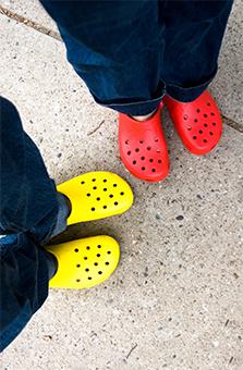 Детские сандалии резиновые