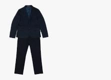 Черные классические костюмы для мальчиков
