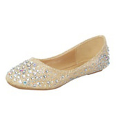 Туфли для девочек ткань