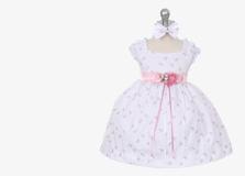 Нарядные платья для новорожденных