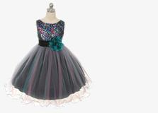 Пышные нарядные платья для девочек