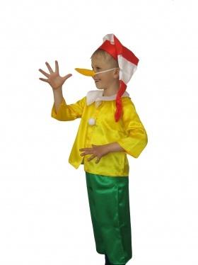 Карнавальный костюм Буратино Карнавалия на зиму для мальчика 382618 ... e8c25ac85e3a9