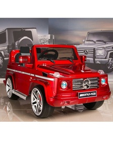 Электромобиль Mercedes-Benz DMD-G55 AMG New Version red