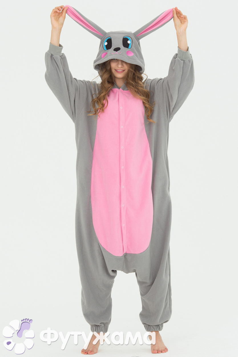 Пижама-кигуруми Кролик Футужама для женщин 3899139 a239b25e035da