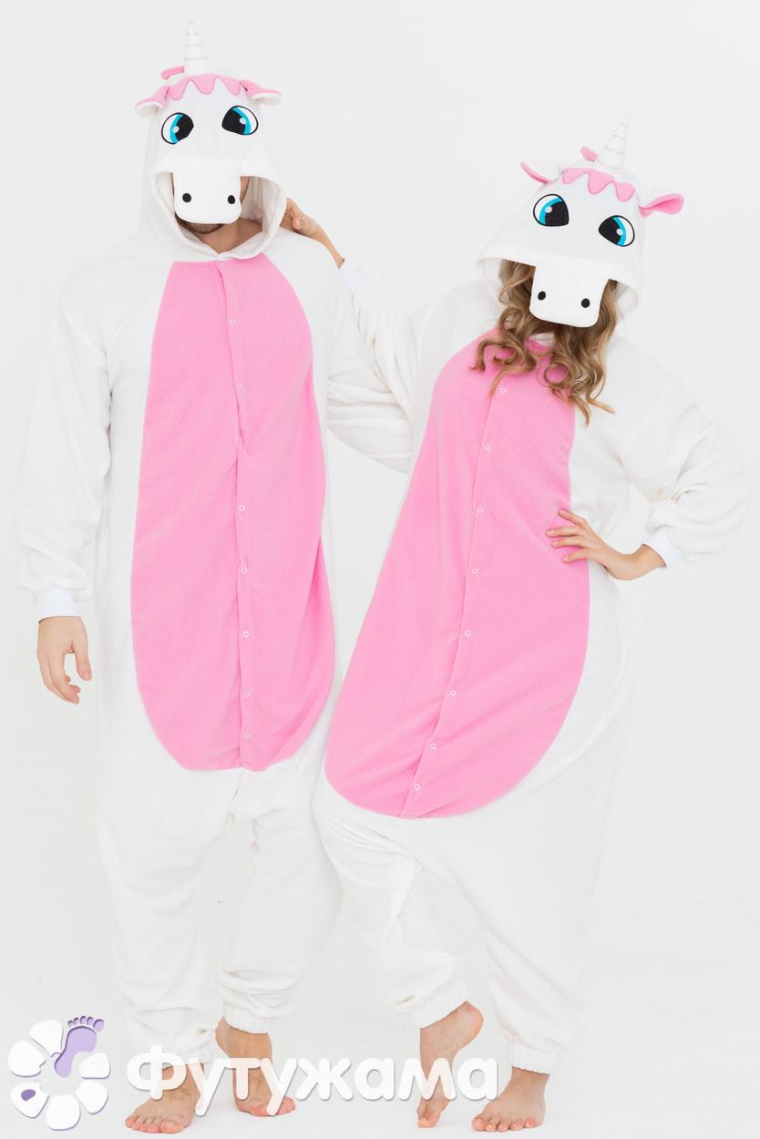 Пижама-кигуруми Единорог розовый Футужамацвет розовый 8ea3297ea1ee6