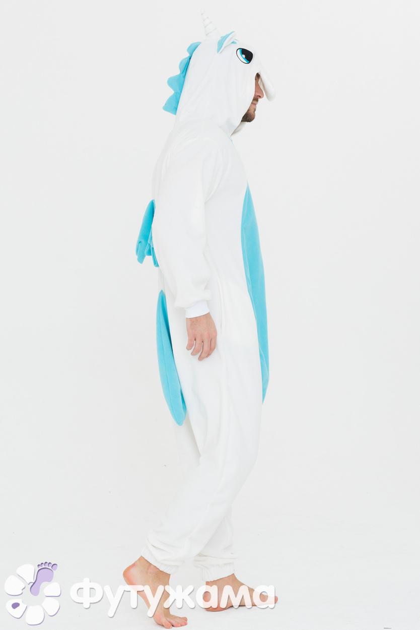 Пижама-кигуруми Единорог голубой Футужамацвет голубой 57a08cc948467