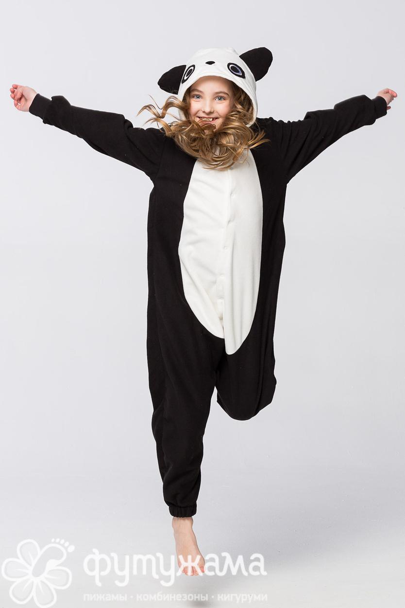 Детская пижама-кигуруми Панда Футужама для девочки a82145b8a939e