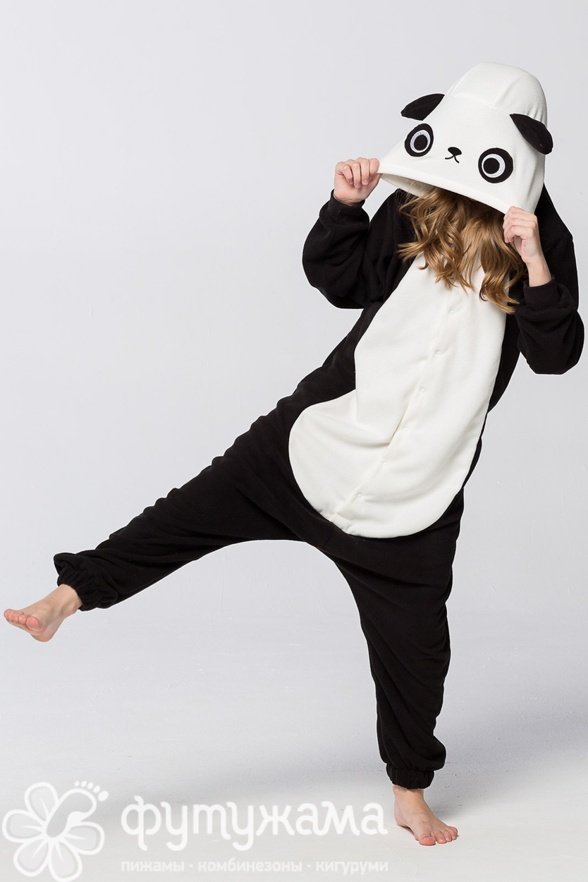 6e00f344c Детская пижама-кигуруми Панда Футужама для девочки, мальчика 3899214 ...