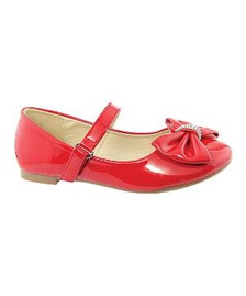 01360908 10 пар детских туфель красного цвета на каблучке купить от 1159 руб ...