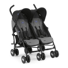 Коляска для двойни Echo Twin Stroller Coal