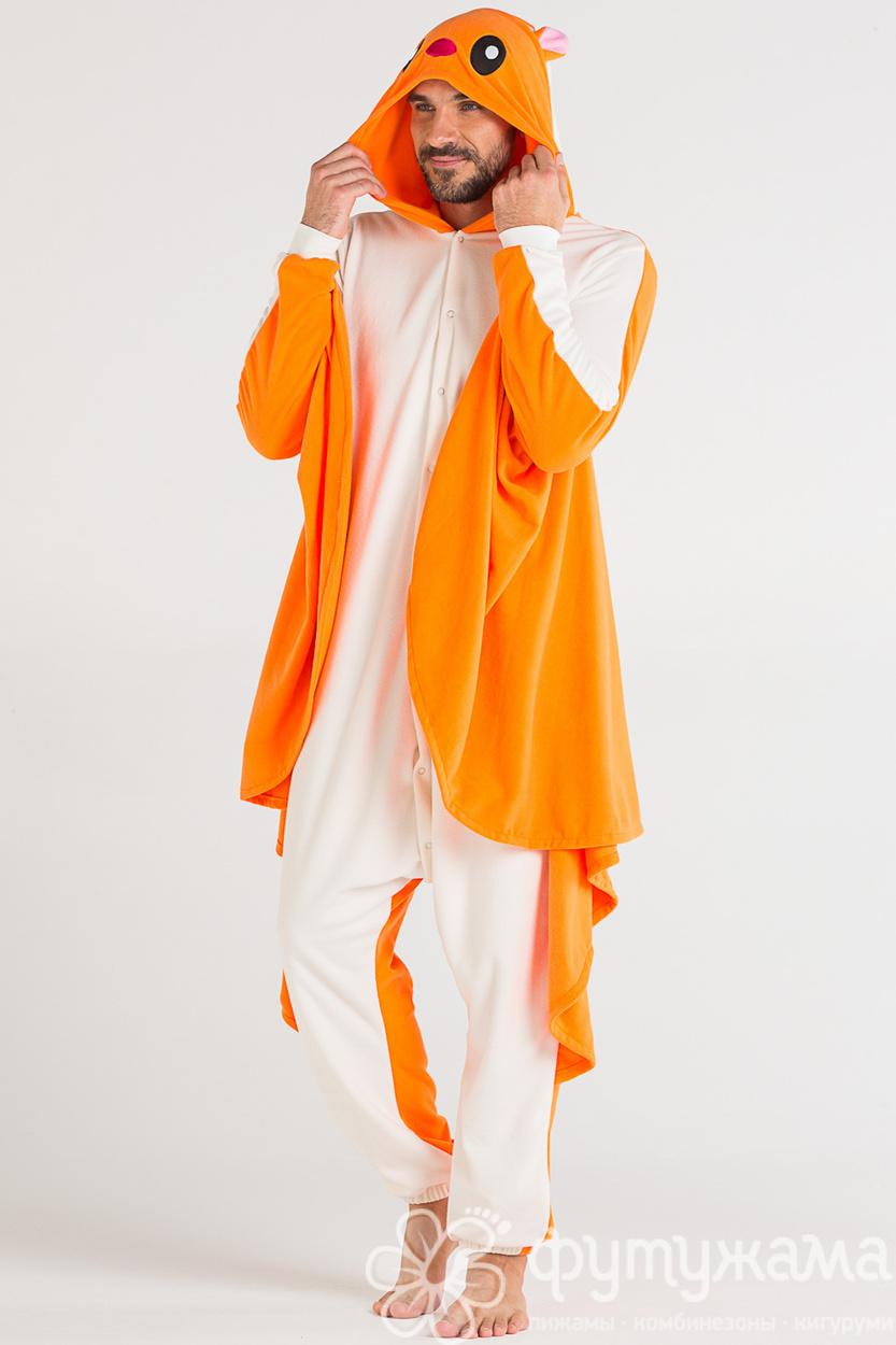 Пижама-кигуруми Белка-летяга Футужама для женщин 4017762 8b95321ca8a1e