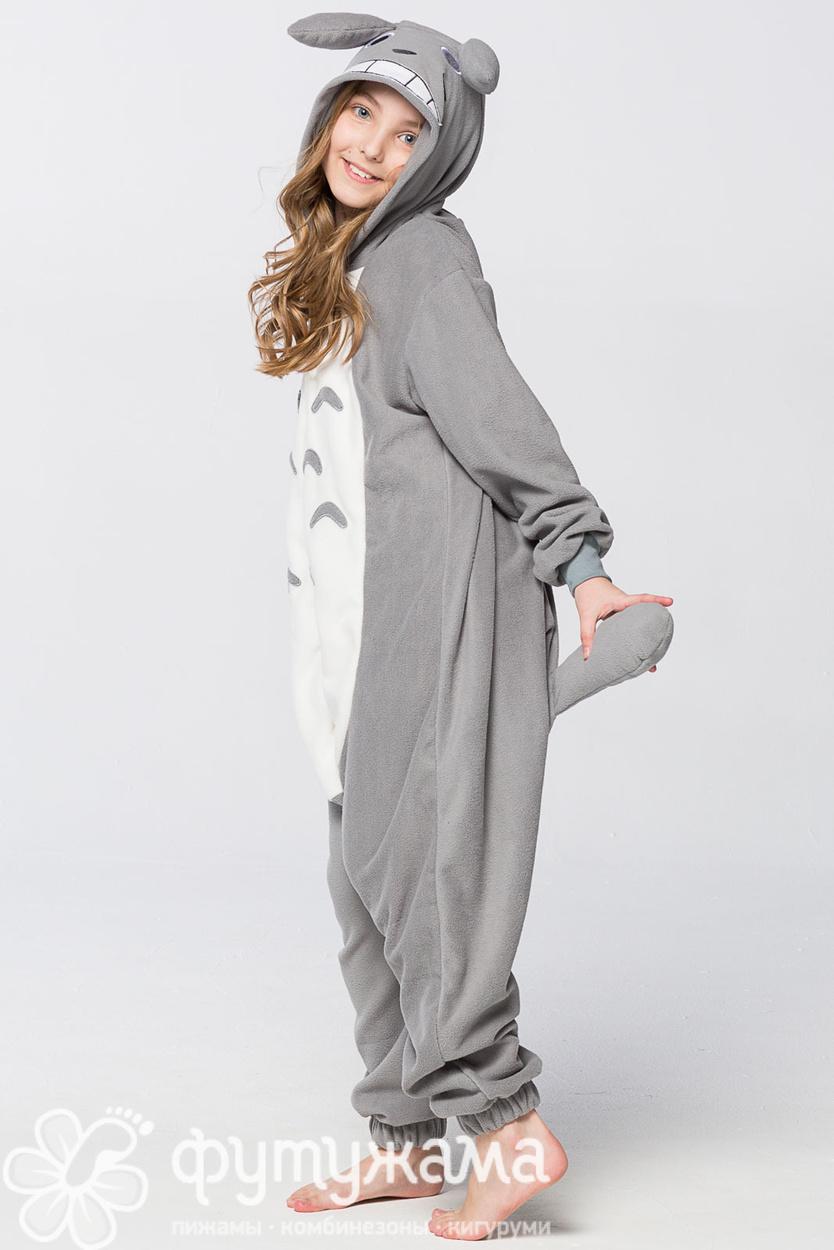 Детская пижама-кигуруми Тоторо Футужама для девочки 4025787 4ef53ee8d7c44