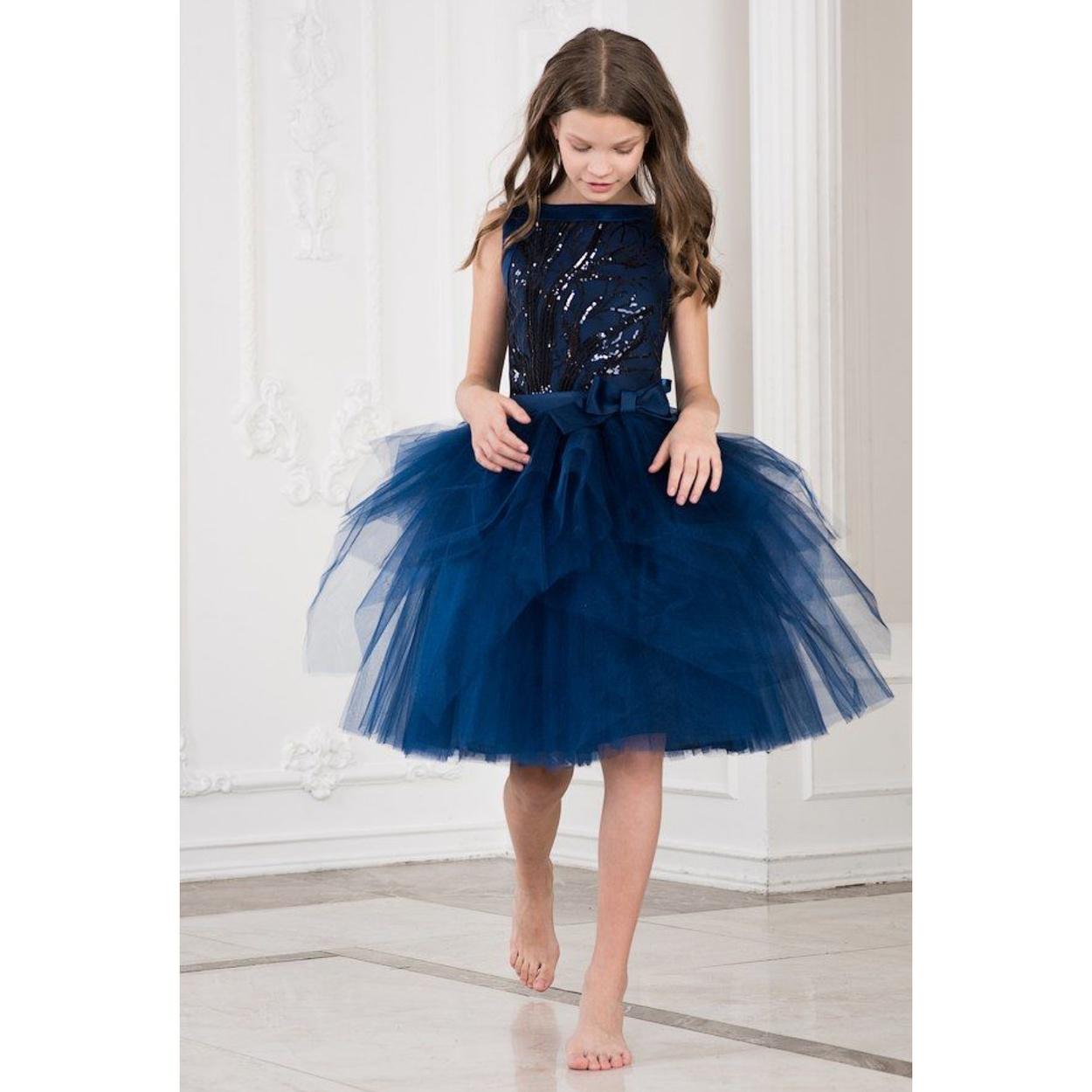 fba7695fd9df Платье черничного цвета bolero на осень, весну для девочки 4088246 ...