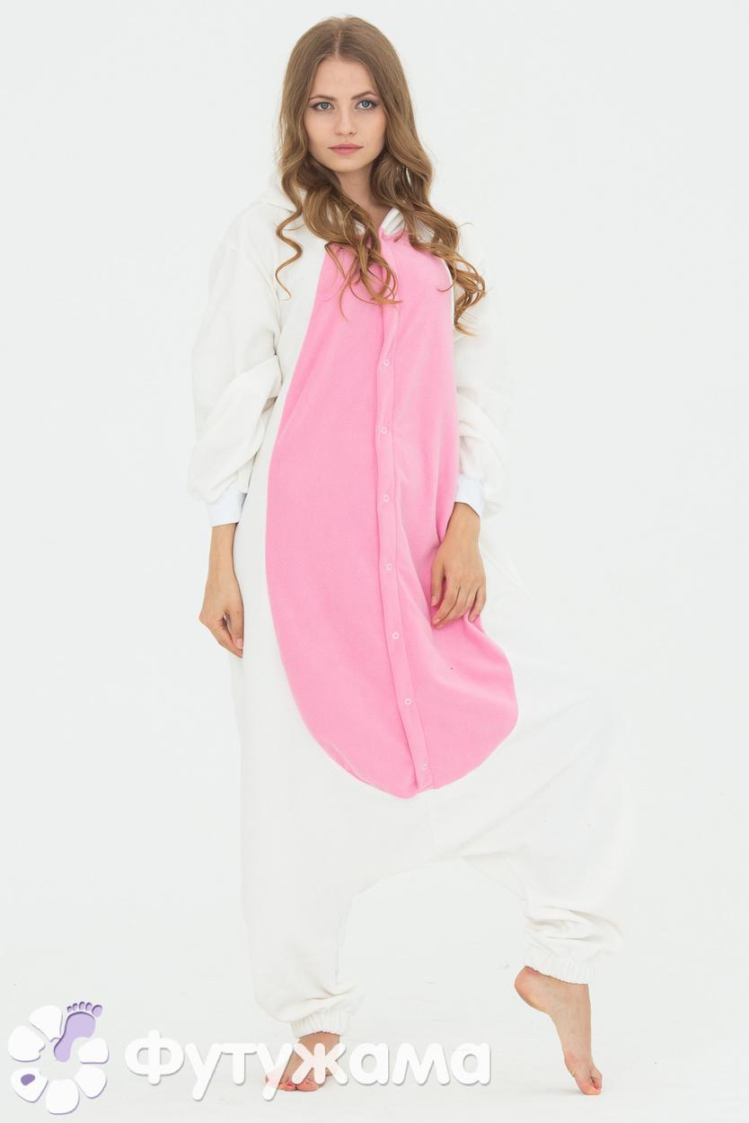 Пижама-кигуруми Заяц розовый Футужама 4151198 9f98a4b351238