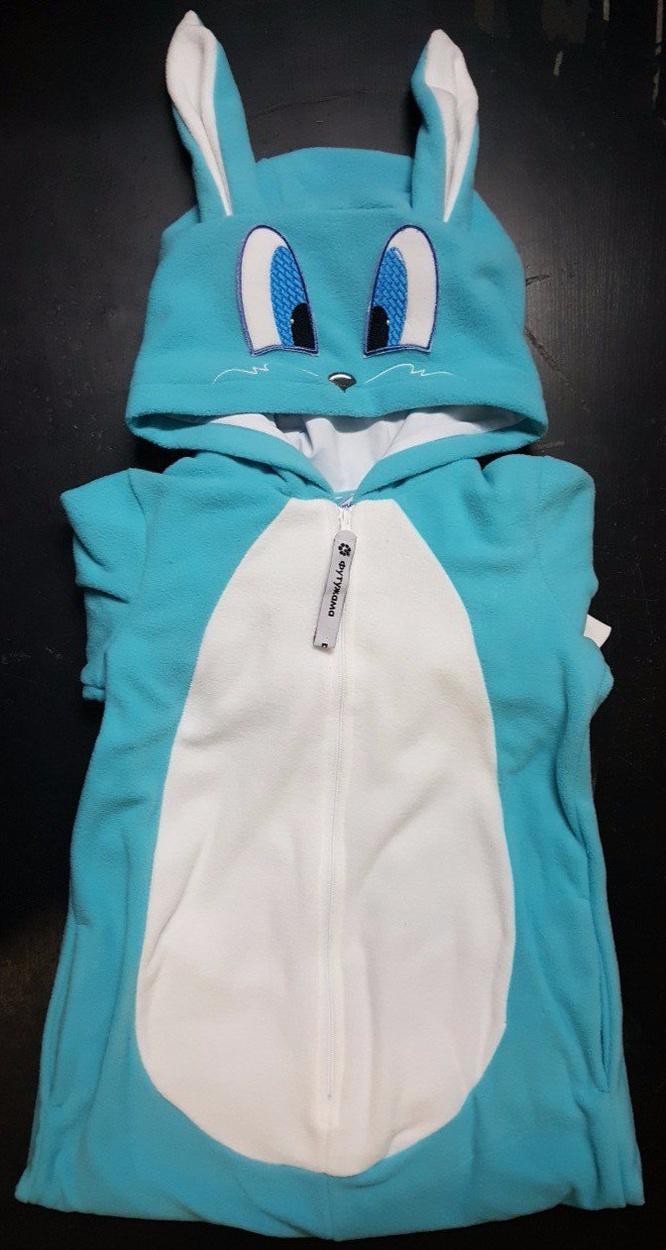 Пижама-кигуруми Зайчик Лапа Футужама для девочки 4213065 23ce9484f12dc