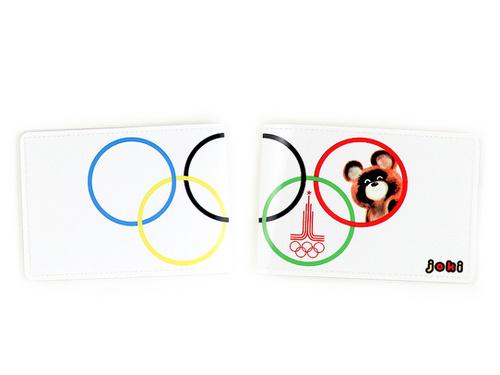 Обложка для паспорта Олимпийский мишка Joki для женщин 4213862, купить за 345 руб в интернет-магазине www.berito.ru в Москве
