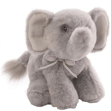 Мягкая игрушка Oh So Soft Elephant Grey Rattle