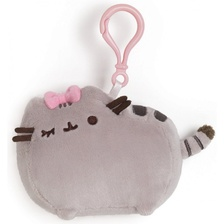 Мягкая игрушка Pusheen Backpack Clip Bow