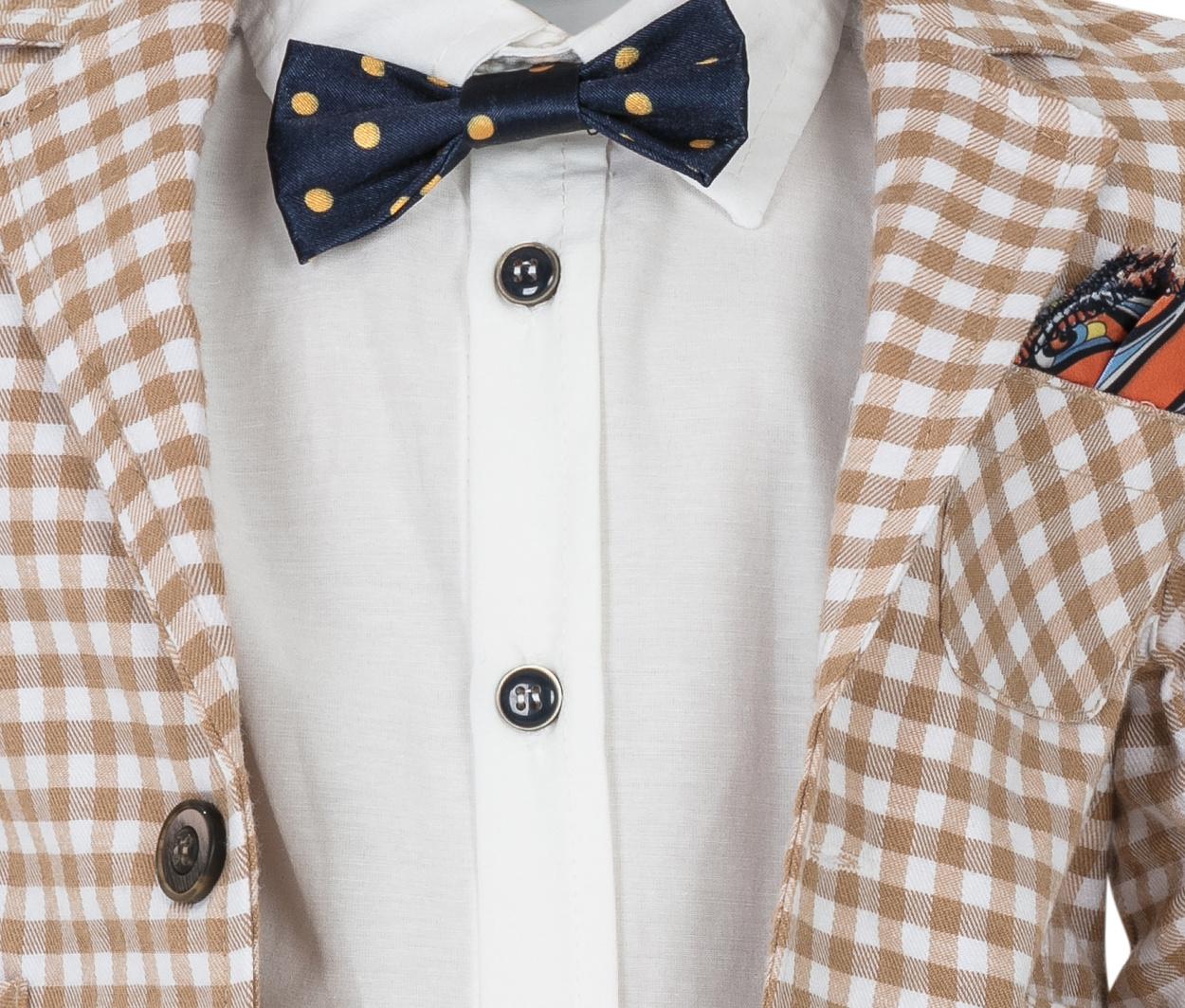 2f9d7316ffa1c72 Рубашка, пиджак, бабочка и брюки, костюм MiLi 4343581, купить за 3 200 руб  в интернет-магазине www.berito.ru в Москве