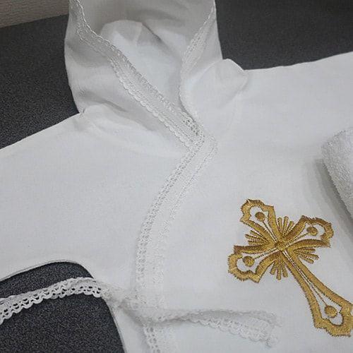 70bc7251648 Крестильный фланелевый набор noname для девочки