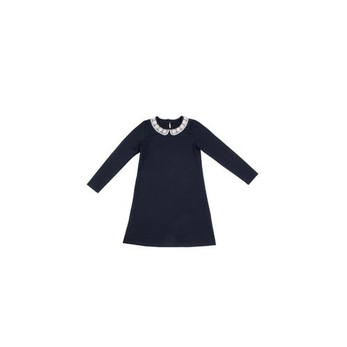 dc05d8f4eaa3 Школьное платье для девочки синее Апрельцвет темно-синий, размер 146,  #4514277