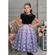 922631be5e93ea6 Бархатное платье для девочки купить в Москве, нарядные бархатные ...