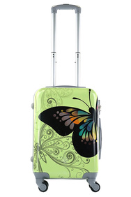 Чемодан King of King Butterfly - Light Green (S)