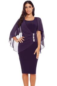 2440dbe4d82 80 вечерних платьев с рукавом 3 4 больших размеров для полных женщин ...