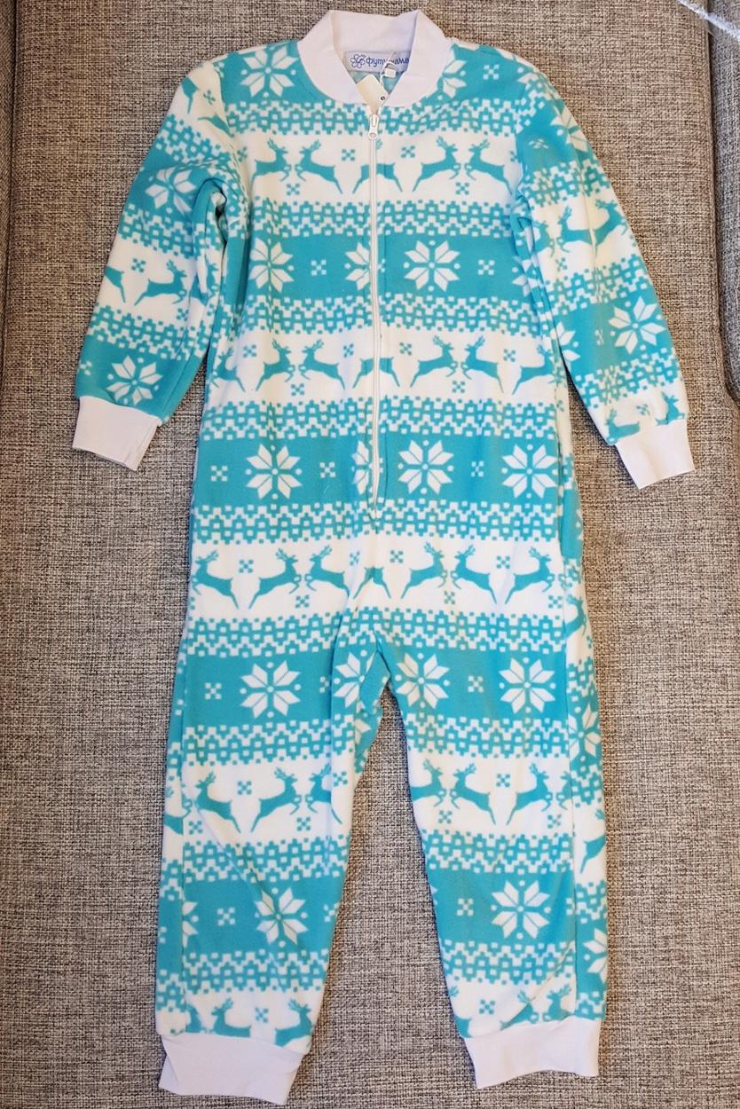 4b7a3b3c2b66d Детская пижама-комбинезон