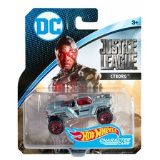 Машинка Hot Wheels DC Cyborg