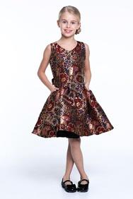 2abcf31c3768a 50 детских платьев из парчи и сетки, купить нарядное парчовое платье ...