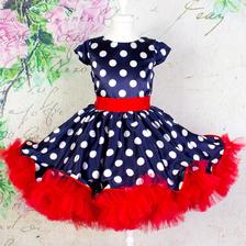 81064dad013 360 нарядных платьев в горошек для девочек купить от 499 руб в ...