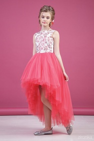 15186086f7ea245 Купить нарядные платья для девочек от 330 руб на www.berito.ru, 4450 ...