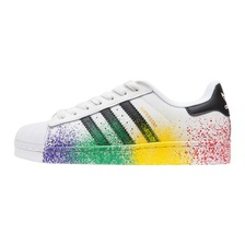 Кроссовки Superstar Pride pack White Black
