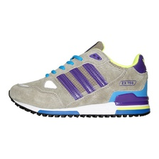 Кроссовки ZX 750 Grey Purple Blue