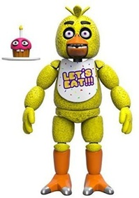 Чика (14 см) - Funko Five Nights at Freddy's Articulated Chica Action Figure, 5-inch