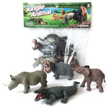Набор диких животых Jungle animal 13 см 4 шт. Y149-1 Shantou Gepai