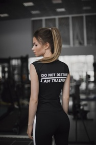 Футболка DO NOT DISTURB/I'M TRAINING, XS