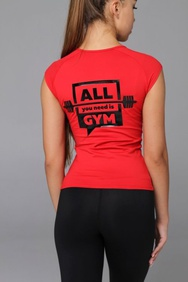 Футболка ALL YOU NEED IS GYM, XS