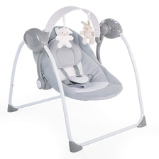 Chicco Качельки серые Swing Relax & Play, Cool Grey